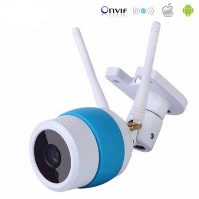 Camera YooSee Ngoài trời ip wifi chuyên quan sát ip wifi 1.3Mb (trắng xanh)
