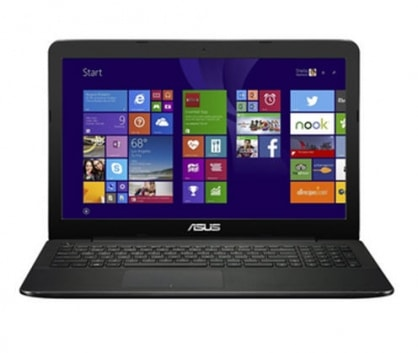 Asus X554LA-(Intel Core i3-4030U 1.9GHz, 2GB RAM, 500GB HDD, VGA Intel HD Graphics 4400, 15.6 inch, Win 7)