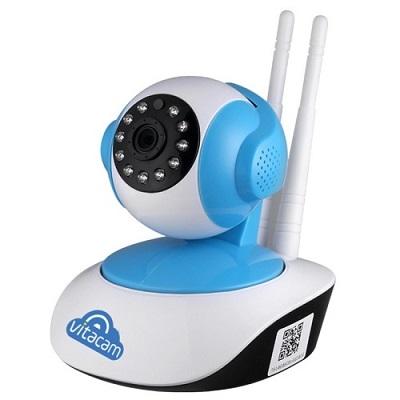 Hướng dẫn cài đặt kết nối camera ip vitacam trên smart phone
