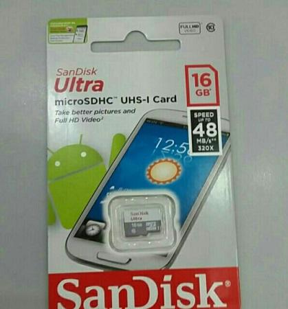 Thẻ nhớ Sandisk Micro SDHC Class 10 Ultra 320X - 16GB